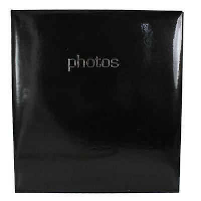 "Photo Album - Occasion - Classic 'Photos' Design - Black 104 5""x7"" Photo's"