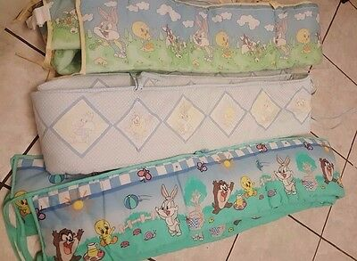 Disney Baby Looney Tunes Baby Bumper Very Cute Your Choice for Standard Crib