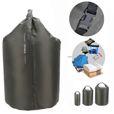 Portable 8L 40L 70L Waterproof Dry Bag Sack Storage Pouch Canoe Floating Boating