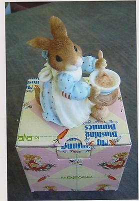 1996 My Blushing Bunnies-A Mom Like You Is A Blessing Come True With Box And Coa