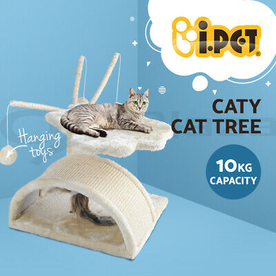 i.Pet 60cm Cat Scratching Tree Gym House Scratcher Pole Furniture Bed Toy Small