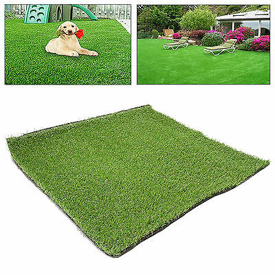1.8*0.9m Synthetic Artificial Grass Turf Lawn Garden Landscape Plant 18mm Thick