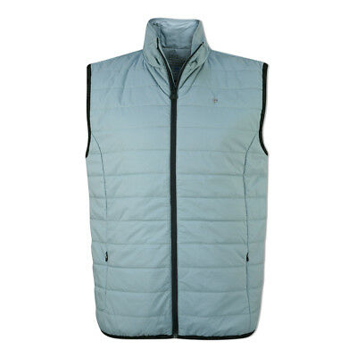 Oscar Jacobson WPS Water Resistant Gilet with PrimaLoft in Duck Egg Blue