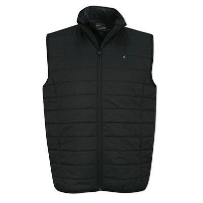 Oscar Jacobson WPS Water Resistant Gilet with PrimaLoft in Black