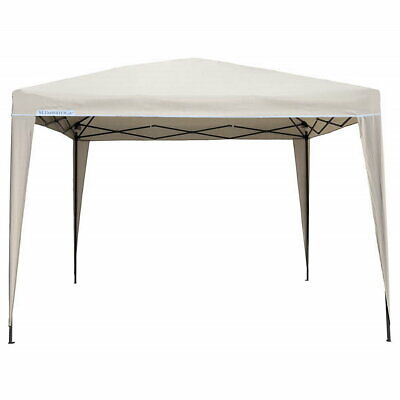 White 3 x 3 m waterproof party wedding garden awning canopy marquee tent gazebo