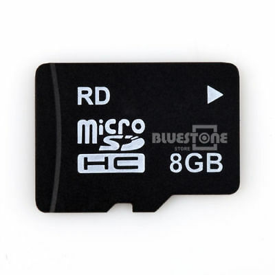 New 8GB Micro SD Card TF Flash Memory Card For Cameras or Mobile Phones