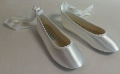 Touch Ups Flower Girl/Bridesmaid Shoes - White - Gypsy - US 13M UK 12 #27L357
