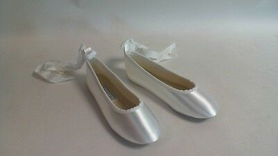 Touch Ups Flower Girl/Bridesmaid Shoes - White - Gypsy - US 2M UK 1 #6E205