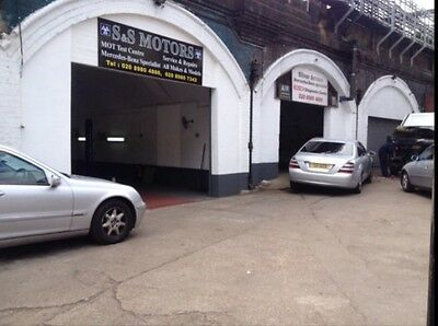 MOT TEST STATION REPAIR GARAGE BUSINESS FOR SALE 6 YEARS OPEN LEASE £3.5k NWP