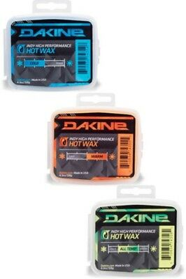 Dakine Indy Cake Wax Snowboard Ski 4.5oz Warm Cold And All Temp Waxes Iron On