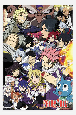 Fairy Tail Season 6 Poster New - Maxi Size 36 x 24 Inch