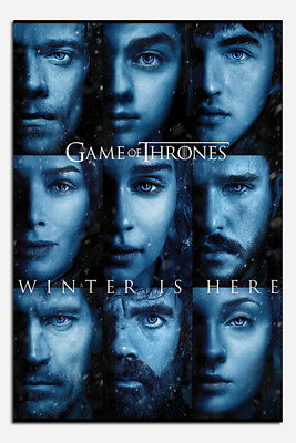 Game Of Thrones Winter Is Here Poster New - Maxi Size 36 x 24 Inch