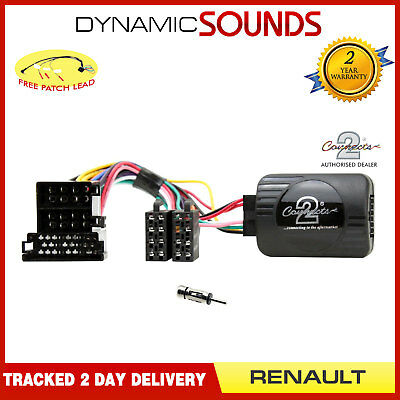 Connects2 CTSRN003AA Stalk Control Adaptor + Aerial For Renault Clio 2000-2005