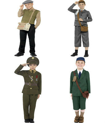Boys Evacuee WW2 War Fancy Dress