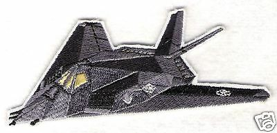 F117 STEALTH Aircraft Airplane Aviation Collectable Patch Military Embroidered