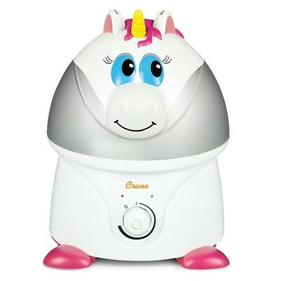 Crane Ultrasonic Cool Mist Humidifier - Unicorn
