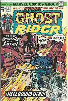Ghost Rider #9 (1St Series)  (Marvel)  1974 (Fn- 5.5)