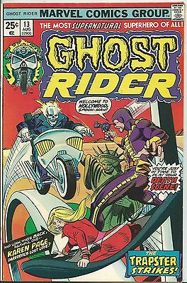 Ghost Rider #13 (1St Series)  (Marvel)  1975 (Fn/+ 6.0/6.5)