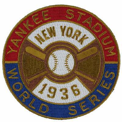 8001aa5520a 1936 New York Yankees MLB World Series Championship Emblem Jersey Patch  Gehrig