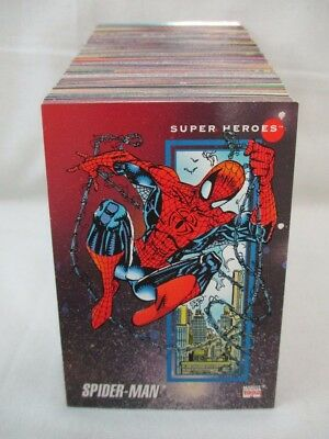 MARVEL UNIVERSE Series III Trading Card Set w/Hologram Cards Impel 1992 Lot