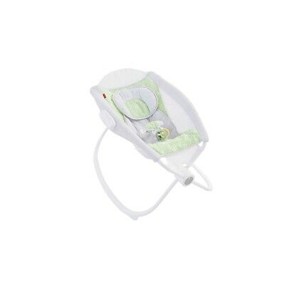 Fisher-Price Deluxe Auto Rock 'n Play Smart Connect Seat - Isle Stone