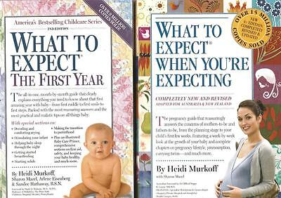 Pregnancy What To Expect When You're Expecting + What To Expect The First Year