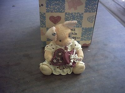 1995 This Little Piggy You're Sow Sweet Figurine With Box