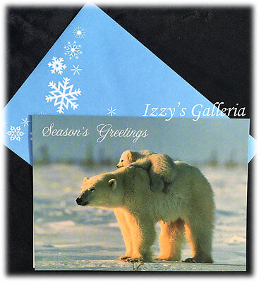 Vintage national geographic wchristmas coca cola ad back vintage norbert rosing national geographic seasons greetings christmas card m4hsunfo