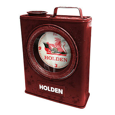 Licensed Holden Heritage Jerry Can Clock