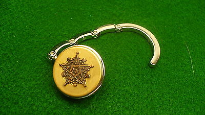 Eastern Star purse hanger OES logo NEW compact
