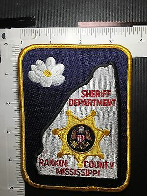 Rankin County  Mississippi Sheriff  Shoulder Patch