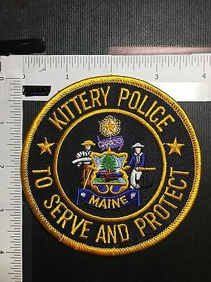 Kittery Maine Police   Shoulder Patch