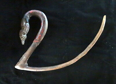 Khmer Cambodia Roug Rice Cutter Tribal Art Museum Worthy Agriculture Harvest