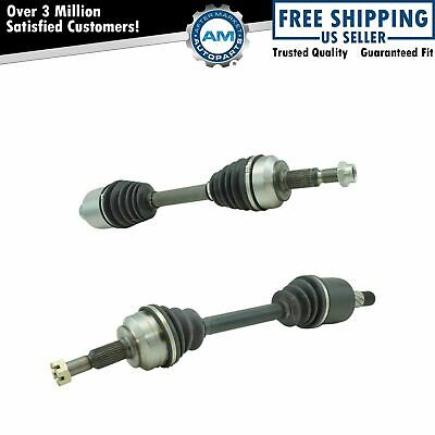 Front Complete CV Axle Shaft Assembly LH RH Pair for Grand Cherokee SUV New