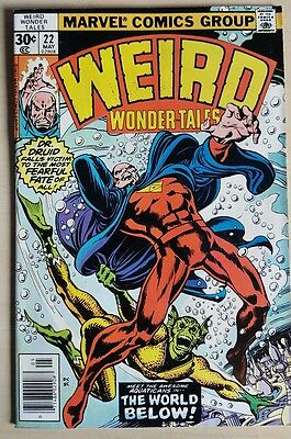 Weird Wonder Tales #22 VF+ Bronze Age Comic Uncurculated