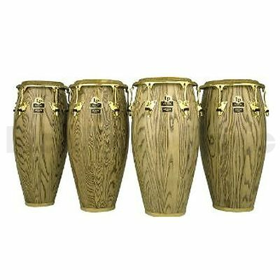Latin Percussion LP805Z-AW 11 Inch Quinto - Ash - Gold Hardware