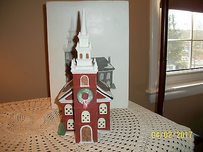 "MIB Dept 56 New England Village Series ""Old North Church"""