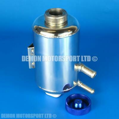 Alloy 0.5 Litre Coolant Overflow Header Expansion Tank Bottle 11mm 15mm (81845)