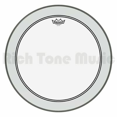 Remo P3-1322-C2 22″ Powerstroke P3 Clear Bass Drum Head
