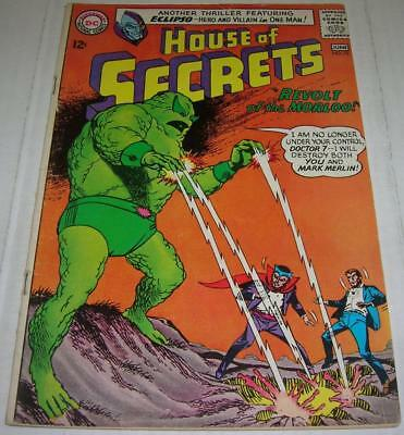 HOUSE OF SECRETS #72 (DC Comics 1965) MARK MERLIN & ECLIPSO (VG+)