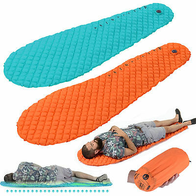 Utralight Self-Inflating Mattress Inflatable Air Mat Camping Tent Sleeping Pad