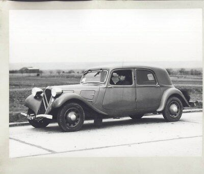 1938 Citroen Traction Avant 15W ORIGINAL Factory Photograph wy3107