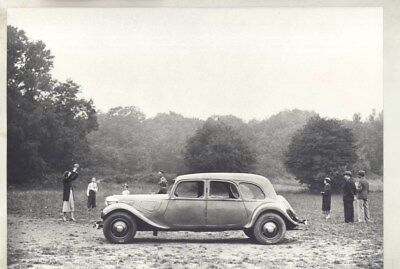 1938 ? Citroen 15 ORIGINAL Factory Photograph wy3119