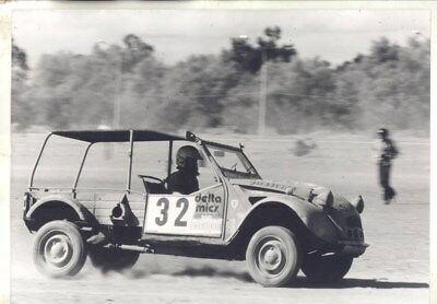 1980 Citroen Mehari in Morocco Rally ORIGINAL Factory Photograph wy3144