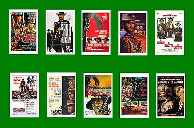 The Good The Bad And The Ugly - Film  Poster Postcard Set # 1