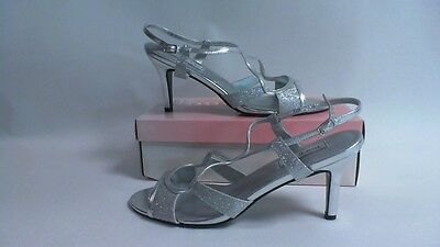 Touch Ups Bridal/Evening Shoes - Renee - Silver - US 12M UK 10 #37R147