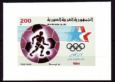 Syrien Syria 1984 ** Bl.64 Olympische Spiele | Olympic Games Los Angeles