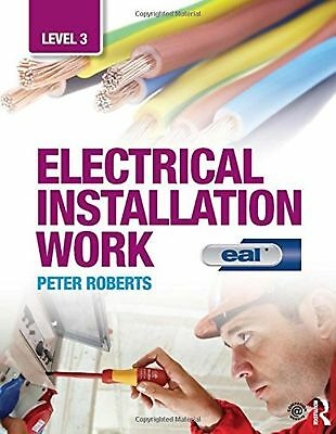 Electrical Installation Work: Level 3: EAL Edition NEW BOOK