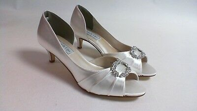 Touch Ups Wedding Shoes - White - Kennedy - US 8 M UK 6 #15R394