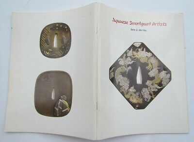 JAPANESE SWORDGUARD ARTISTS by GARY MURTHA ILLUSTRATED REFERENCE BOOK